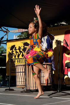 N'Fungola Sibo African dance group at the Congo Square New World Rhythms Festival 2012 by New Orleans Jazz & Heritage Foundation, via Flickr