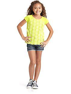 DKNY - Girls Crochet Top
