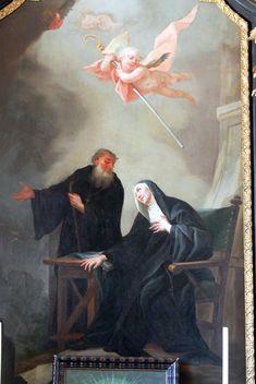 St. Benedict of Nursia | http://saintnook.com/saints/benedictitaly | Hafnerberg_-_Benedikt-Altar_2.jpg (JPEG Image, 1712×2560 pixels) - Scaled (36%)