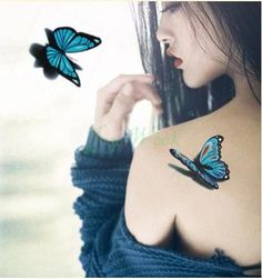 Cheap body art, Buy Quality flash tatoo directly from China butterfly tattoos Suppliers: Temporary Tattoo Sticker butterfly tattoo girl small size tatto stickers flash tatoo fake tattoos Waterproof Body Art Fake Tattoos, Great Tattoos, Trendy Tattoos, Body Art Tattoos, Girl Tattoos, Small Tattoos, Sleeve Tattoos, Cross Tattoos, Best Tattoos For Women