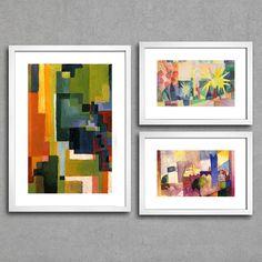 Kit Abstrato - August Macke