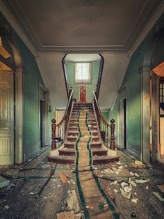 Matthias Haker ~ photo via Abandoned Photography facebook.com/hakerphoto