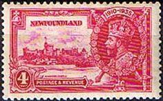 Newfoundland 1935 King George V Silver Jubilee Fine Mint SG 250 Scott 226 Other Newfoundland Stamps HERE
