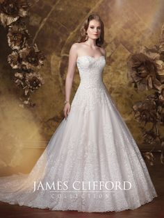 64 Best James Clifford Gowns Images Bridal Gowns Bridal