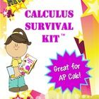 Nothing else like it!  Must have for AP Calculus teachers or any Calculus teacher, high school, dual enrollment, or college.  First of its kind!  I...