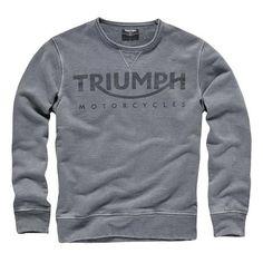Classic, cozy Triumph Crew Sweatshirt | Triumph Motorcycles #shopTriumph