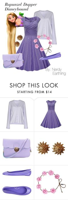 """Rapunzel Dapper Disneybound"" by nerdyearthling ❤ liked on Polyvore featuring FABIANA FILIPPI, Chanel and Kartell"