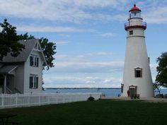 Lighthouse in Marblehead, OH