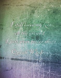 - Oprah Winfrey #fashion #quote