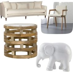 Untitled #43 by modernfashionguru on Polyvore featuring polyvore interior interiors interior design home home decor interior decorating CB2 The Elephant Family