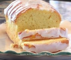 There's only one thing that can be said about this pound cake. A hot steaming cup of coffee on a warm spring morning. Sweets Cake, Cupcake Cakes, Cupcakes, Lemon Recipes, Sweet Recipes, Lemon Bundt Cake, Loaf Cake, Delicious Desserts, Dessert Recipes