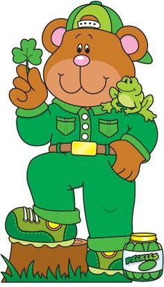 TEDDY BEAR CLIP ART Teddy Bear Hug, Teddy Bear Cartoon, Back To School Party, School Parties, Carson Dellosa, Bear Art, Cute Bears, School Colors, Green Colors