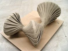 Arch Model, Natural Forms, Abstract Sculpture, Installation Art, Art Inspo, Origami, Art Photography, Sculptures, Pottery