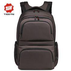 2017 New Tigernu Brand Waterproof Nylon Men's Backpacks Unisex Women Backpack Bag for 15.6 Laptop Notebook Bag Mochila Feminina