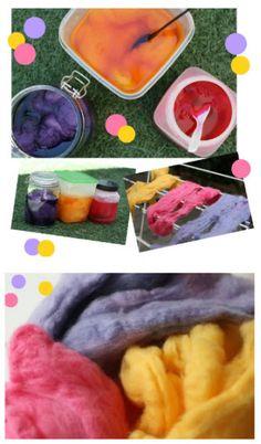 How to: Dye wool fleece · Felting   CraftGossip.com http://felting.craftgossip.com/2012/08/22/how-to-dye-wool-fleece/