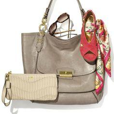 2. Matching accessories from Coach #PassportToFashion @MapleviewCentre