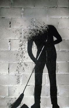Pejac, great street art, urban artists, street artists, amazing urban art…