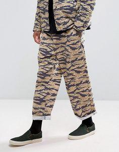 ASOS | Pantalones extragrandes de conjunto con estampado de camuflaje de tigre de ASOS