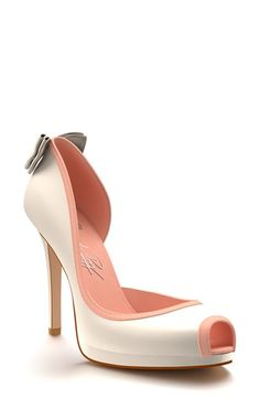 Shoes of Prey Half d'Orsay Platform Pump (Women) available at #Nordstrom