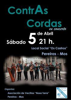 ETRAD. Escola Municipal de Vigo de Música Folk e Tradicional: ContrAs Cordas en concerto. Asociación de Veciños ...