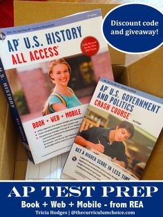 AP Test Prep from REA - giveaway and discount code!