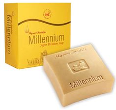 Mysore Sandal Millennium 150 GM Super Premium Sandalwood Soap *** You can get more details by clicking on the image. (This is an Amazon Affiliate link and I receive a commission for the sales)