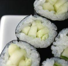 Cucumber roll recipe.