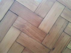 Reclaimed Pitch Pine Parquet
