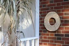 How to Hang Art on Brick or Stone Without Damaging Your Home >> http://blog.diynetwork.com/maderemade/2015/10/27/how-to-hang-art-on-brick-stone/?soc=pinterest