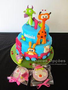 Doces Opções: Bolo do primeiro aniversário da Leticia com o Baby...