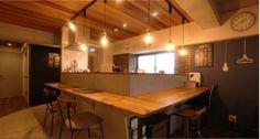 リフォーム・リノベーション会社:kulabo「カフェ風住まいを楽しむ」