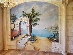 роспись стен лестница - Поиск в Google