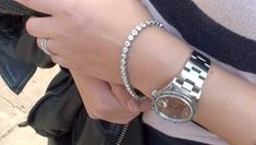 Krieger tennis bracelet