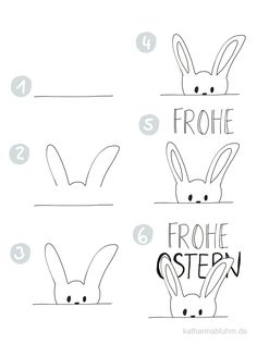 Easter for your Bullet Journal and your sketch notes * Katharina Bluhm sew einfach clothes crafts for beginners ideas projects room Bullet Journal Key, Bullet Journal Themes, Bullet Journal Layout, Journal Prompts For Kids, Journal Ideas, Journal Template, Sketch Notes, Happy Easter, Cool Drawings
