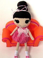 """Free Pattern: Crochet Lalaloopsy"" #crotchet #animals #toys #crotchetanimals Crotchet Animals Must make!"
