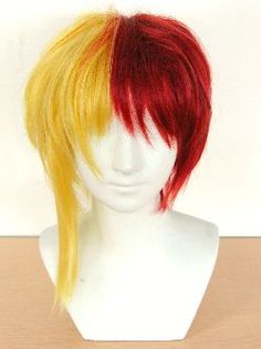 Making a two-toned wig from two wigs! >> I will prob never use this but you never know.