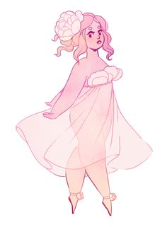 a lot of people requested a peony based girl! Pretty Art, Cute Art, Plus Size Art, Positive Art, Chubby Girl, Illustration, Character Design Inspiration, Aesthetic Art, Cartoon Art