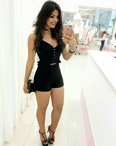 "eaglespath: ""🦅 "" I ❤️ her tight mini dress and high heels, she has sexy legs and hips💋💋💋 Classy Outfits, Chic Outfits, Sexy Outfits, Fashion Outfits, Trendy Dresses, Elegant Dresses, Sexy Dresses, Look Con Short, Kinds Of Clothes"