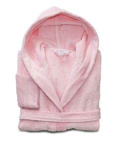 Pink Turkish Cotton Bathrobe - Kids