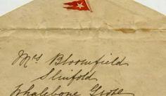 Esta es la increíble carta escrita antes que el Titanic se hundiera