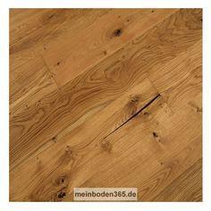 Landhausdiele Eiche Elsass, 34,90 € / m²  Das Parkett ist ein 3-Schicht Fertigparkett als Landhausdiele in der Holzart Eiche europäisch. Seine Oberfläche ist rustikal lebhaft, dazu auch noch gebürstet und naturgeölt. Die Nutzschicht der Diele hat eine Stärke von ca. 3,0 mm und eine umlaufende Mikrofase. Dieser Boden kann sowohl schwimmend mit einer Trittschalldämmung oder auch Vollflächig verklebt verlegt werden.  Weitere Böden finden Sie bei meinboden365.de
