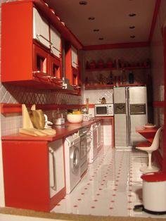 miniaturas modernas casa prisma cocina 2