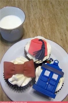 Doctor Who Cupcakes WIN!!!