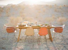 beautiful desert -- Poppytalk: Communal Dining: Feasts + Fields