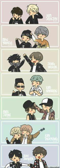 Photo by bts_trash: bts jin suga jhope rapmonster jimin v jungkook Bts Suga, Bts Bangtan Boy, Bts Memes, Funny Memes, K Pop, Namjoon, Taehyung, Evolution, Les Bts