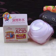Ácido hialurônico rosto creme hidratante hidratação profunda Anti rugas creme para o rosto coreano dia creme Facial cosméticos para a pele seca 50 g(China (Mainland))