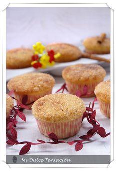 Mi dulce tentación: Muffins con sabor a Donuts - Feliz Año 2012