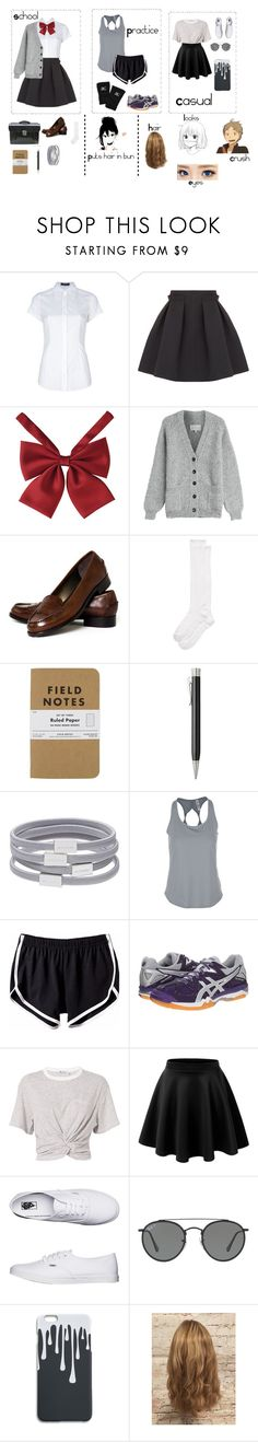 """Haikyuu oc updated"" by voliegrl ❤ liked on Polyvore featuring Dolce&Gabbana, Lanvin, Maison Margiela, Talbots, Usagi, Kate Spade, Faber-Castell, Witchery, Under Armour and Mizuno"