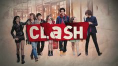 CLASH - Opening title - France2 by alexandre pluquet. An enormous work done for this opening title mix between a stop-motion and after effects animation. This series CLASH talk about teenagers and their daily problem, without falling into the simplicity.
