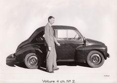 OG | 1946 Renault 4CV - Project 106 | Prototype no.2 from 1942 © Jacqueline Serre - Tous droits réservés